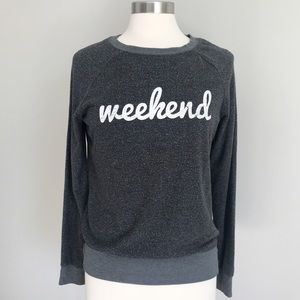 Grayson/Threads Slouchy Weekend Crew Neck Sweater